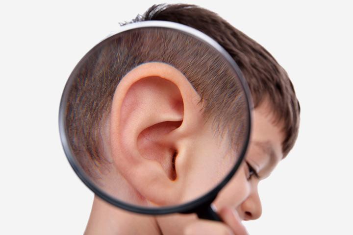 Детские уши картинки