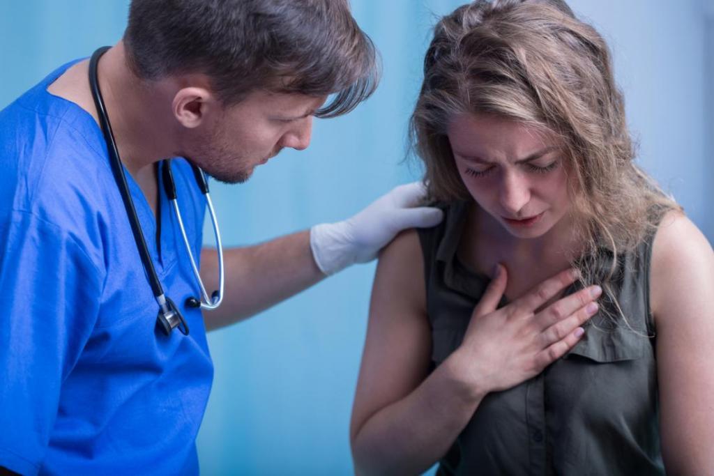 Боли и жжение в груди: причины, возможные заболевания, методы лечения