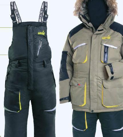 Рыбацкие костюмы зимние