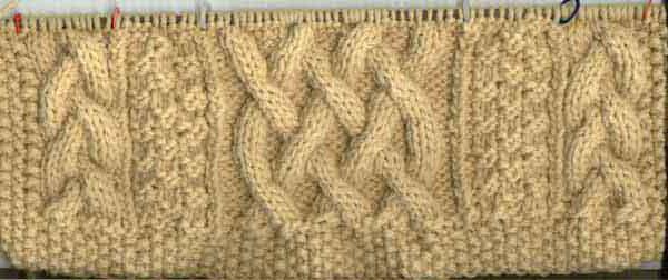 вязание спицами араны схемы