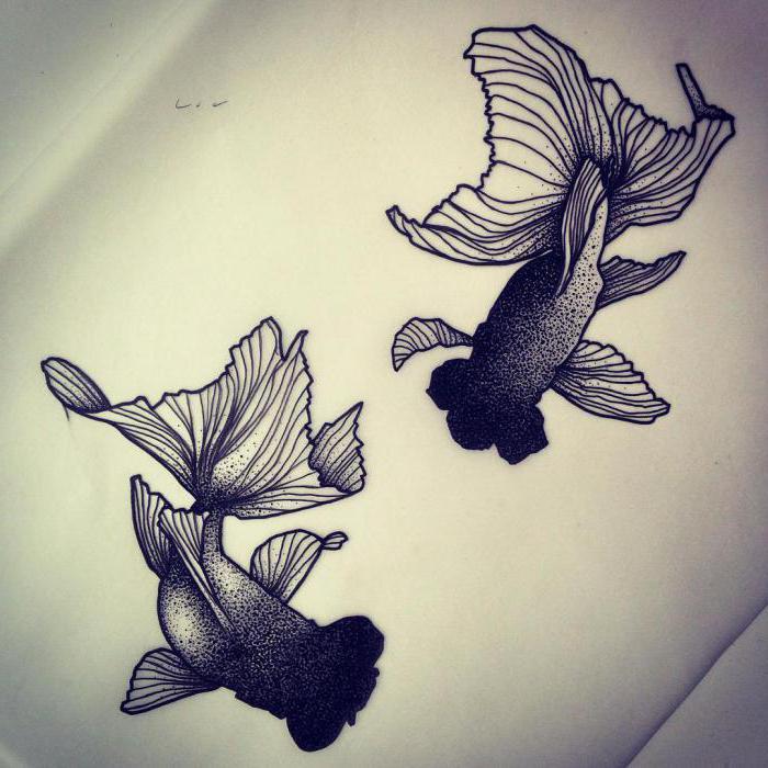рыбы тату картинки