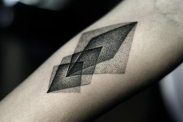 геометрические татуировки для девушек