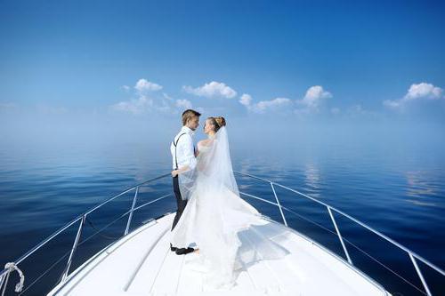 свадебная фотосессия на море идеи