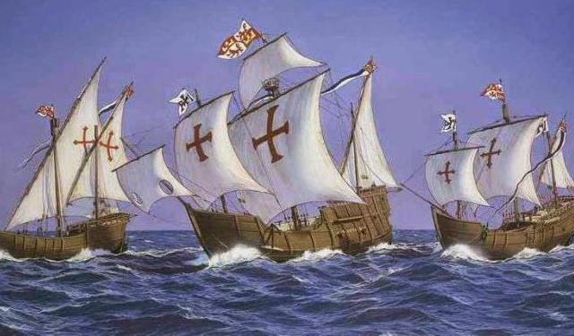 корабли колумба картинки