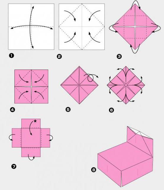 как сделать мебель для кукол своими руками из картона и бумаги