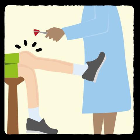 центр коленного рефлекса