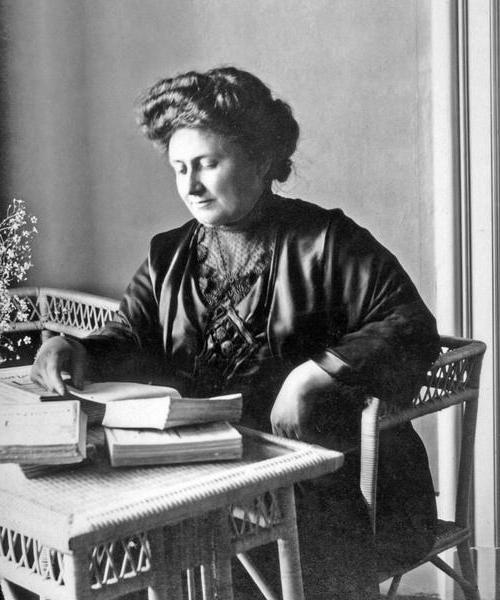 Мария Монтессори биография