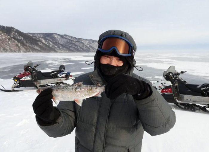 рыбалка на Байкале зимой