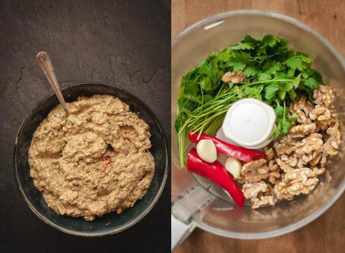 сациви из баклажанов рецепт