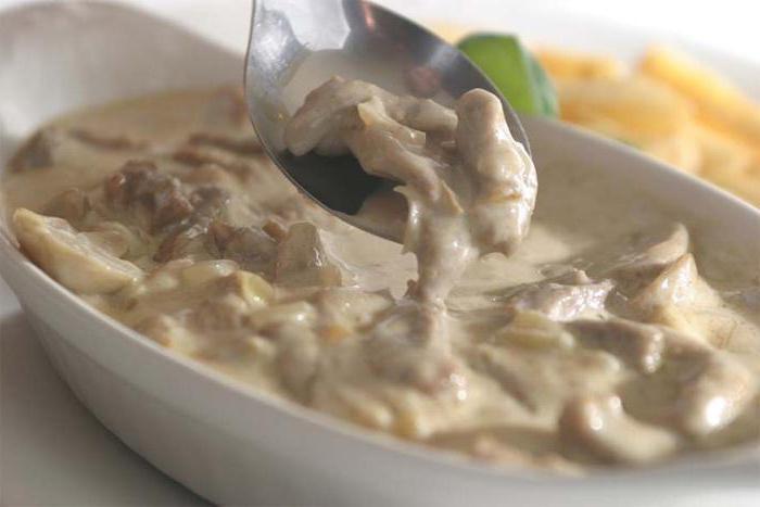 Печень телячья: рецепты в сметане