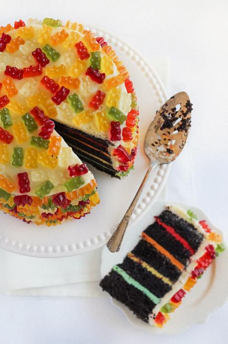 какими сладостями можно украсить торт