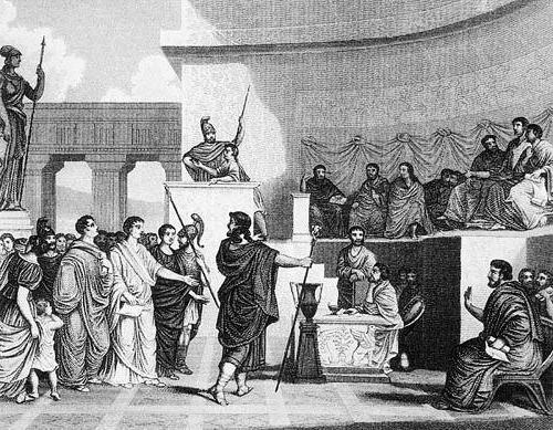 П�ин�ипа� в Д�евнем Риме ��о ��о �акое