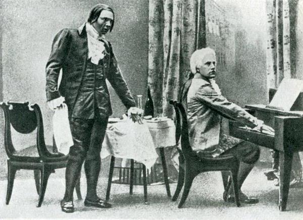 моцарт и сальери пушкин