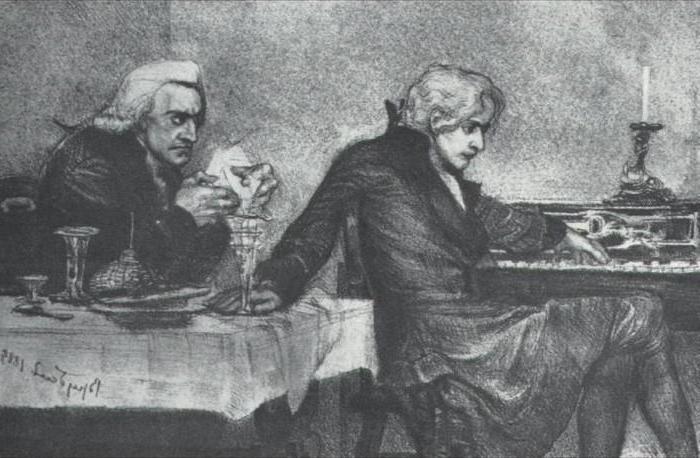 О чём произведение моцарт и сальери