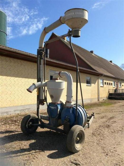 сельскохозяйственная машина для очистки и сортировки зерна