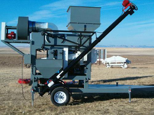 машина для очистки и сортировки зерна