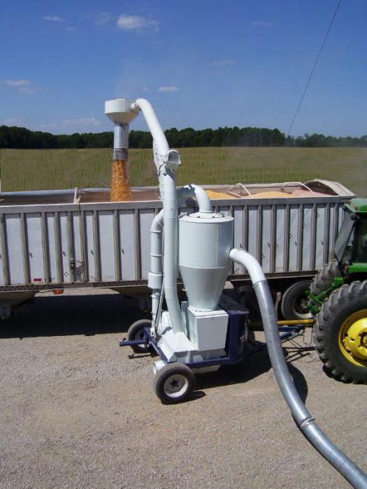 машина для очистки зерна
