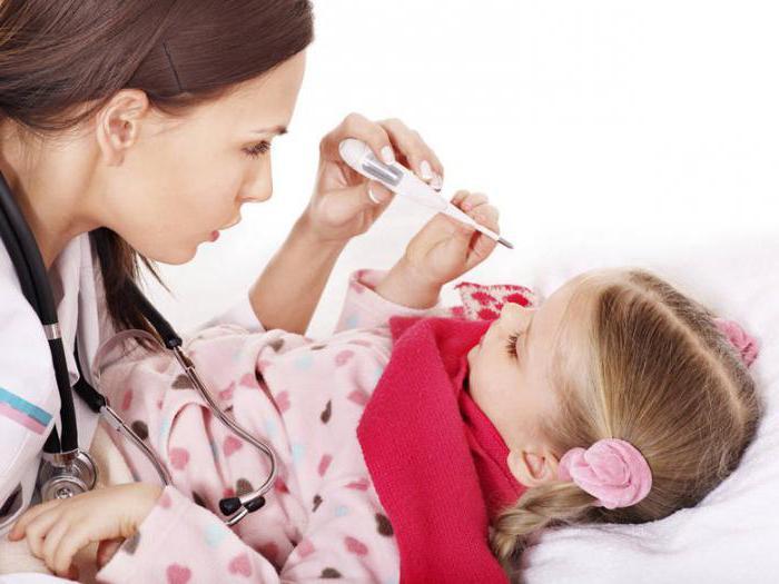 При какой температуре давать жаропонижающее ребенку