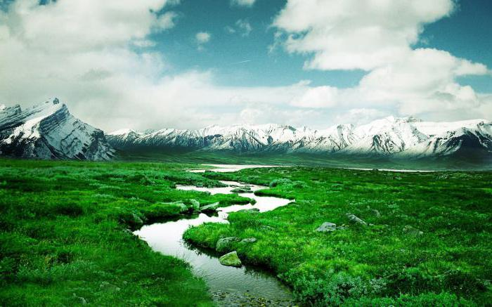 Откуда и куда текут реки