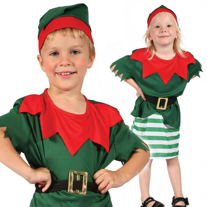костюм эльфа для девочки