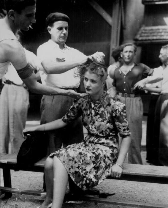 Порно во франции во время войны
