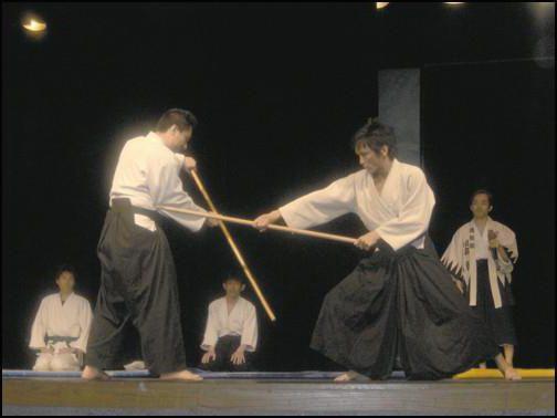 японская борьба на палках