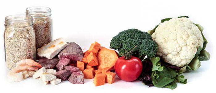 основные виды питания
