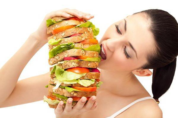 виды продуктов питания