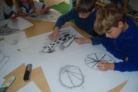 поэтапное рисование для детей 7 9 лет