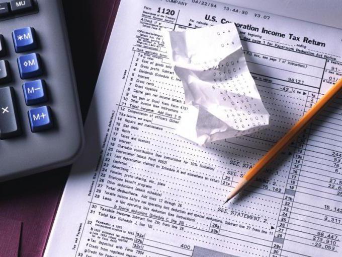 Начисление налога на прибыль