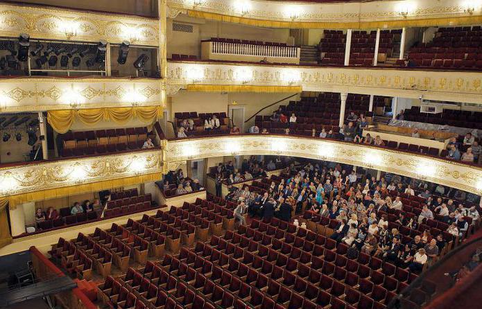 зал театра оперетты