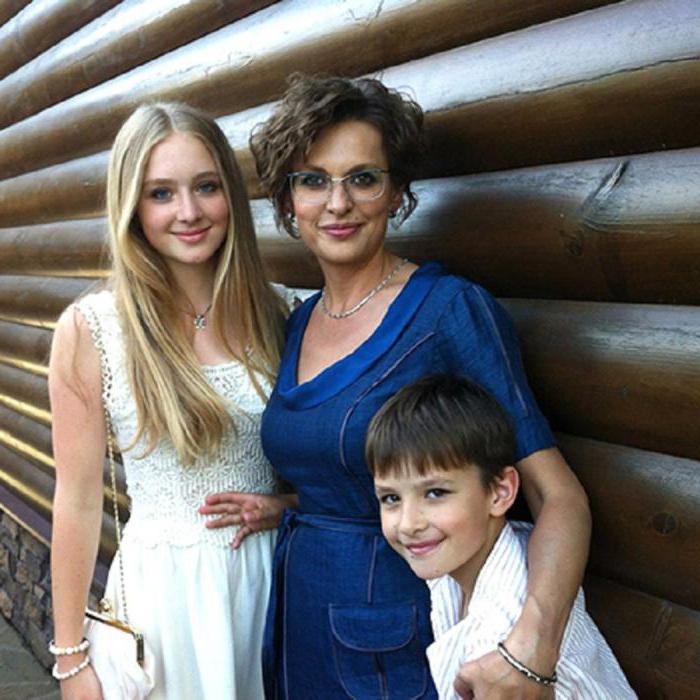 жена и дети Бодрова-младшего