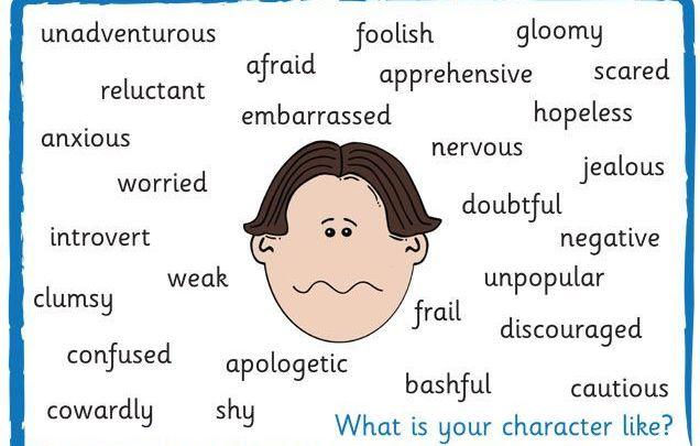 знакомства описание характера на английском