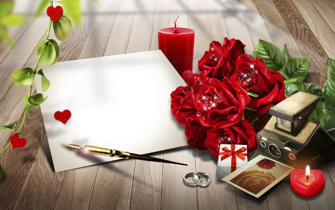 declaration of love to a woman