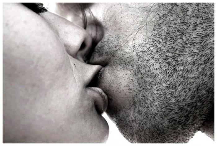 целоваться в губы с знакомым мужчиной