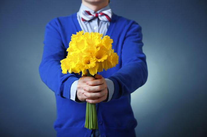 Сонник дарить цветы мужчине