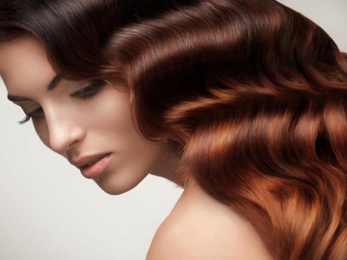 Темная корица цвет волос