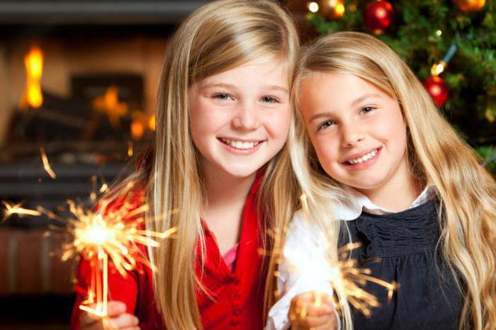 развлечение на новый год для детей
