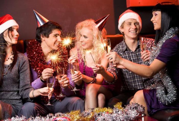 развлекательная программа на новый год