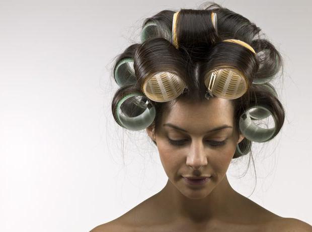 вертикальная биозавивка на средние волосы