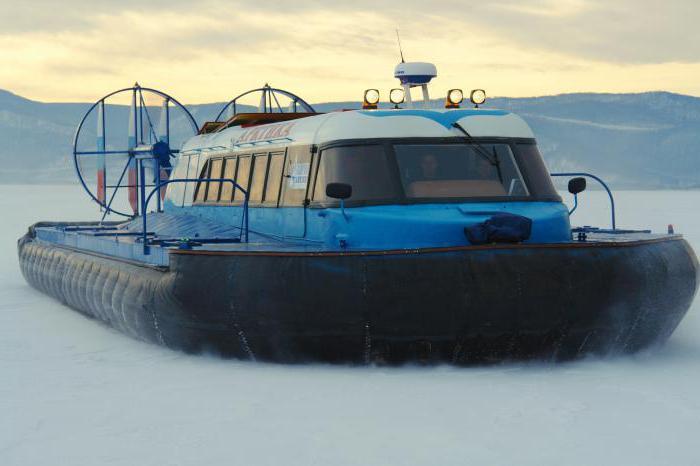 вездеходы на воздушной подушке арктика