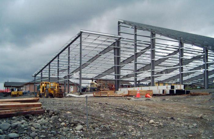 строительство и монтаж зданий из металлоконструкций