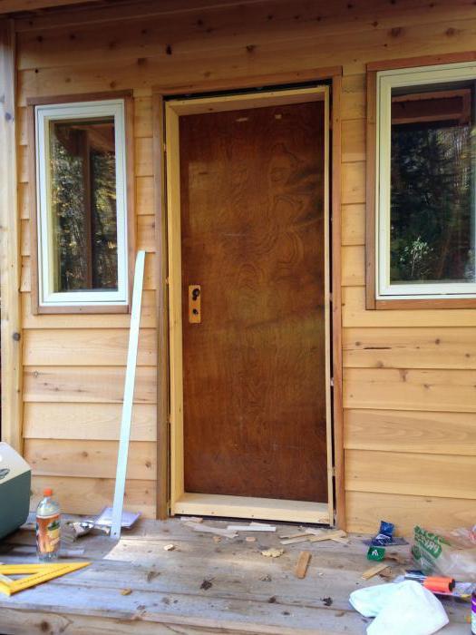 установка металлической входной двери своими руками инструкция