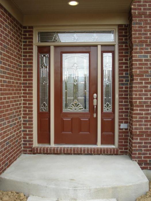 установка металлической входной двери своими руками фото