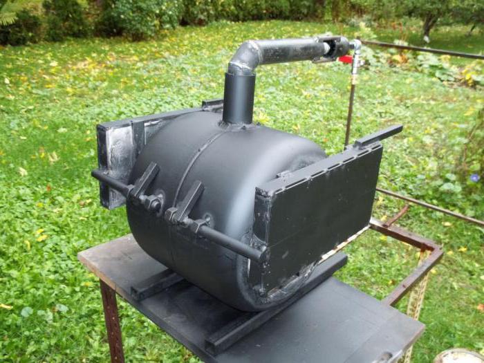 Газовый горн своими руками чертежи фото