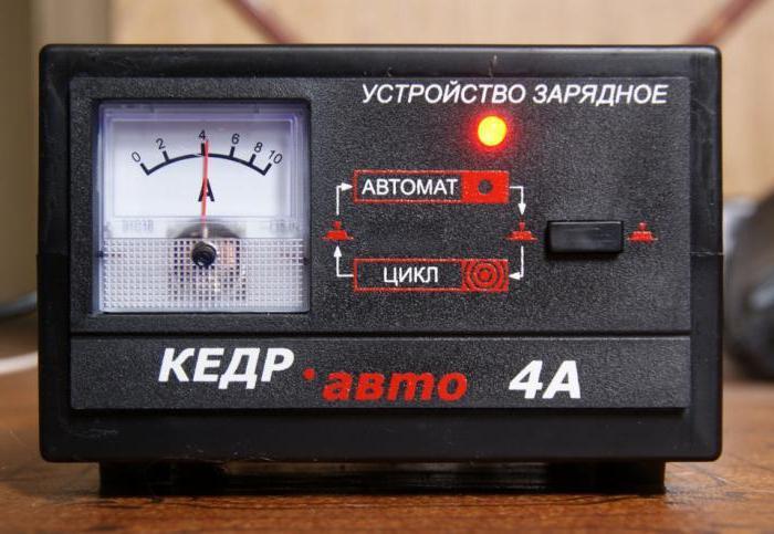 зарядное устройство кедр авто 4а инструкция