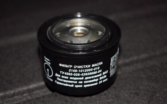 масляный фильтр салют отзывы