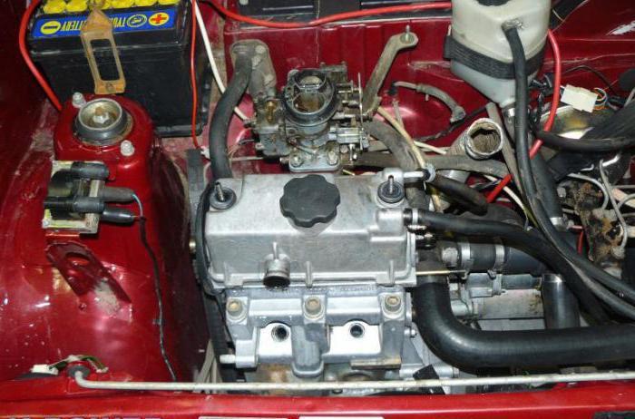 ока объем двигателя