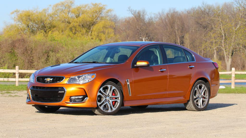 chevrolet ss specifications