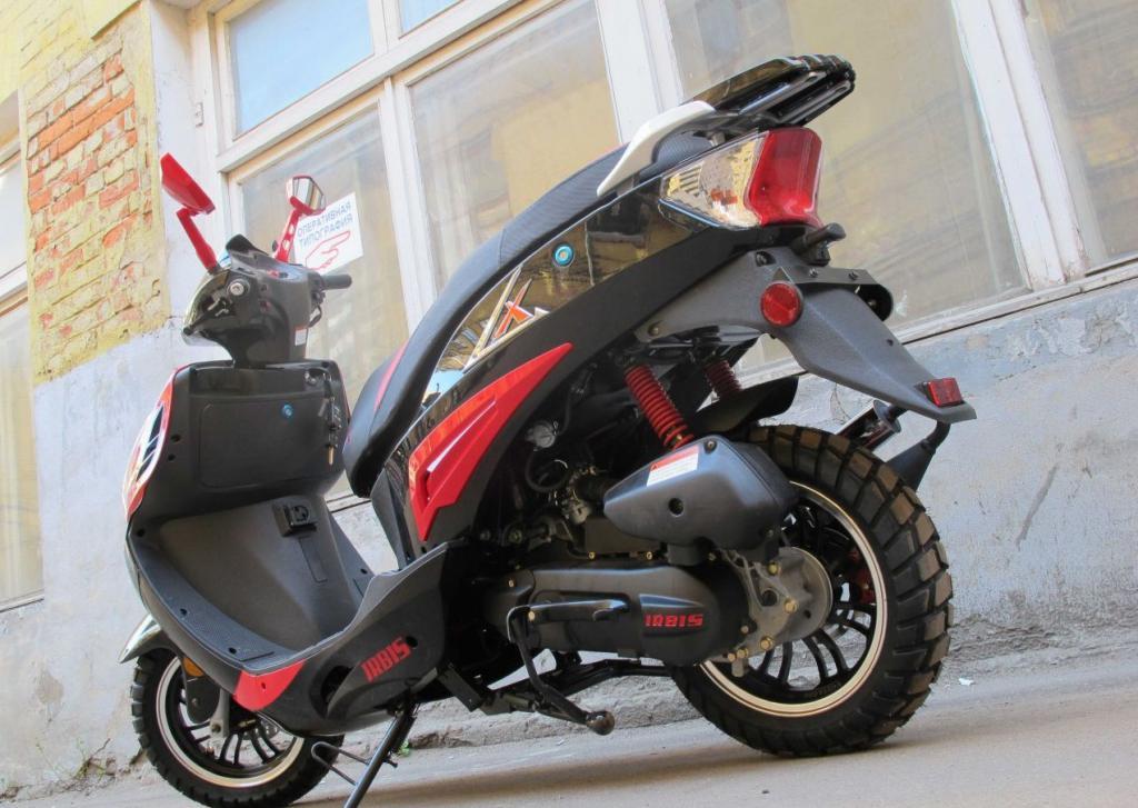 Скутер Irbis LX 50: обзор, отзывы владельцев